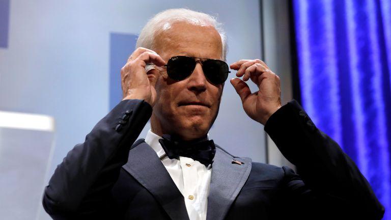 Joe Biden often defies his age