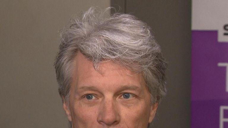Jon Bon Jovi backs TV political debates
