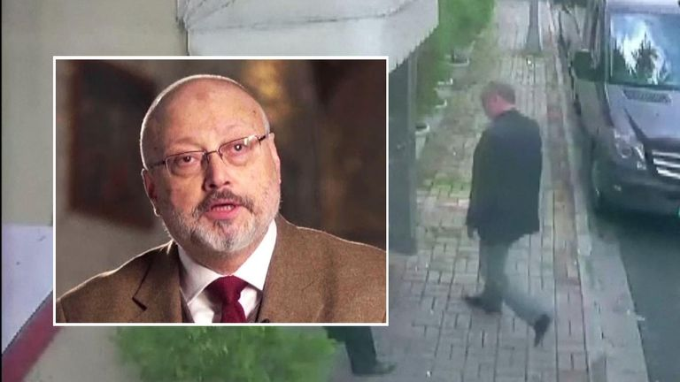 Saudi journalist Jamal Khashoggi disappeared after entering the Saudi consulate in Istanbul