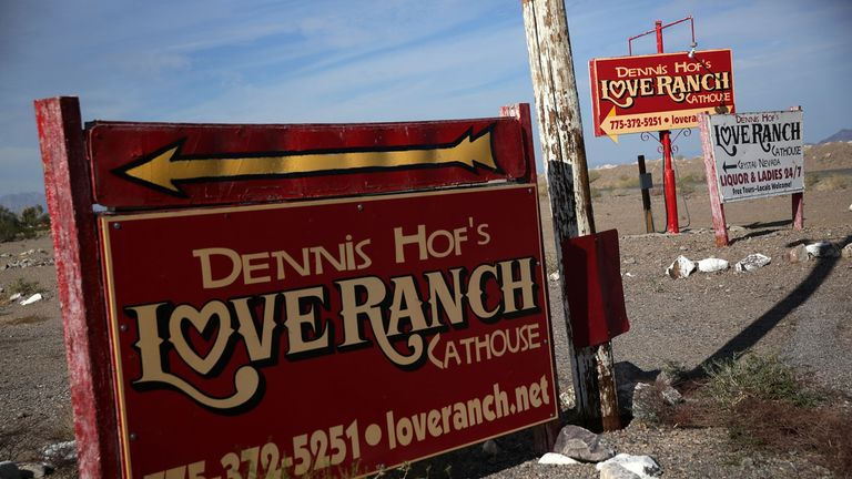 Dennis Hof was found in his house on the Love Ranch in Nevada