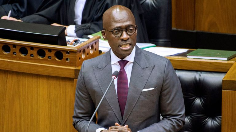 South African Minister Malusi Gigaba Sex Tape Used To -3084