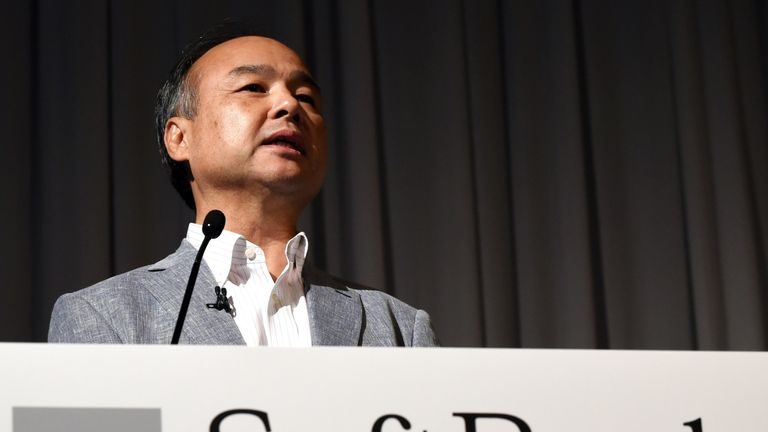 Masayoshi Son founded the Vision Fund