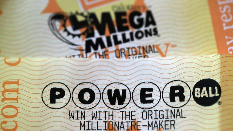 Mega Millions and Powerball tickets