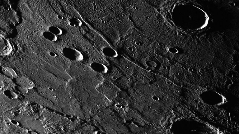 Mercury taken by Nasa's Messenger spacecraft