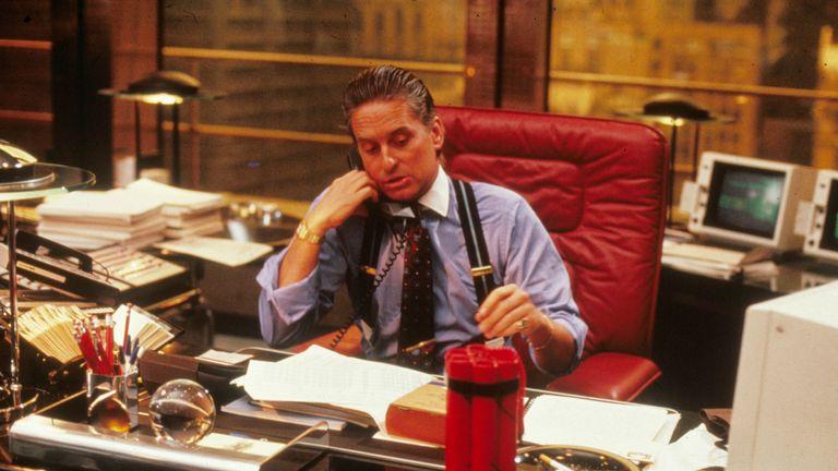 Wall Street, Michael Douglas, 1987