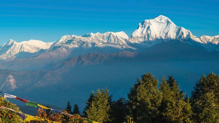 Mount Gurja, in Nepal's Dhaulagiri range
