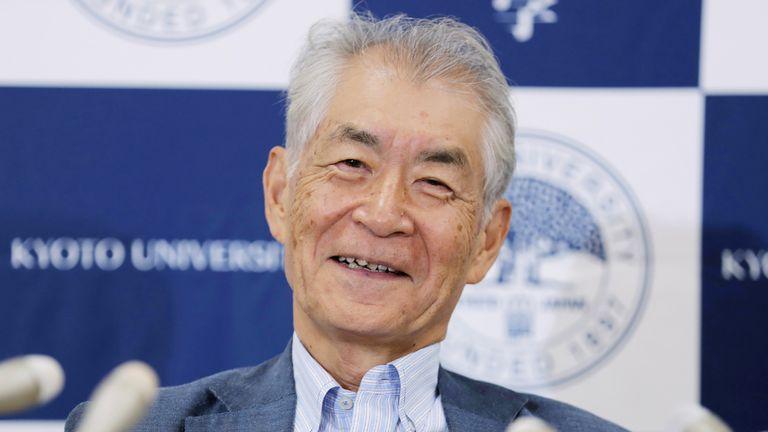 Nobel Medicine Prize winner professor Tasuku Honjo