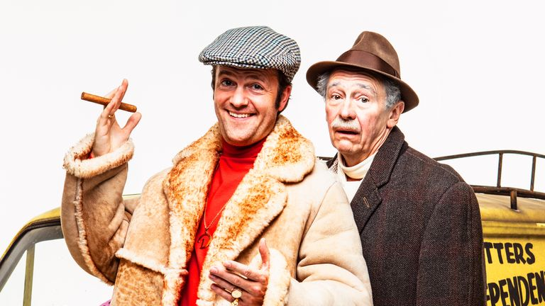 Tom Bennett and Paul Whitehouse as Del Boy and Grandad in the new Only Fools and Horses musical