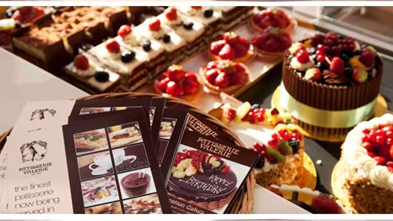 Patisserie Holdings had a market value this week of almost 450 million pounds. Pic: Patisserie Valerie