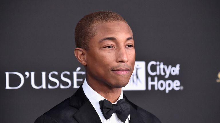 Pharrell warned Mr Trump over use of the song