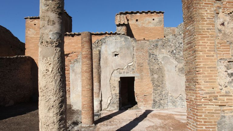 Pompeii was destroyed by a volcanic eruption in AD 79