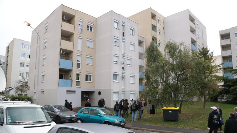 Apartment block where Redoine Faid was recaptured