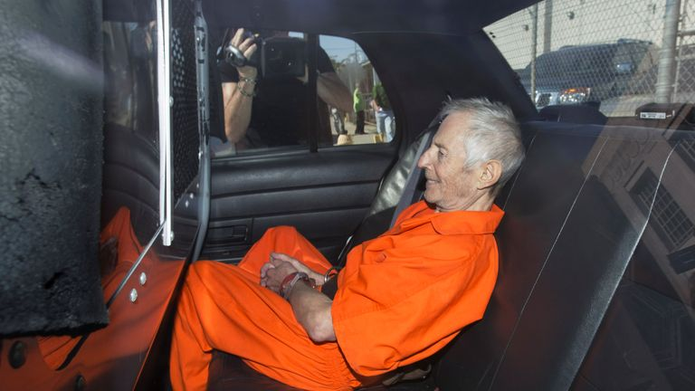 Robert Durst was arrested in New Orleans in 2015