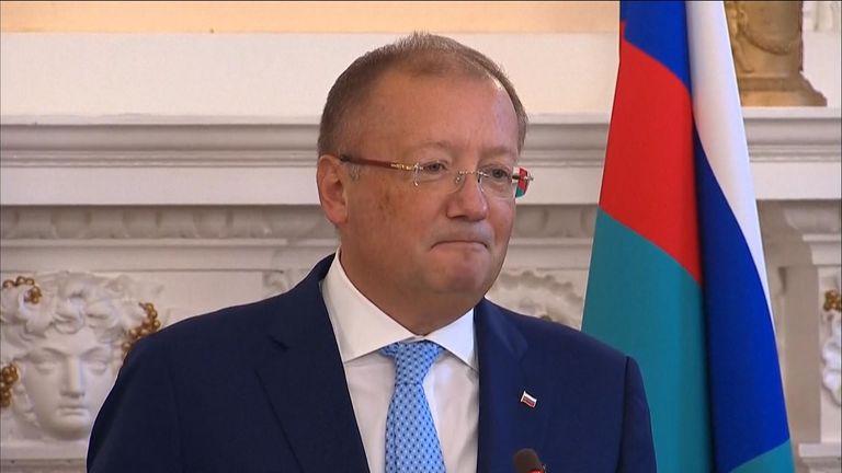 Russia's ambassador to the UK