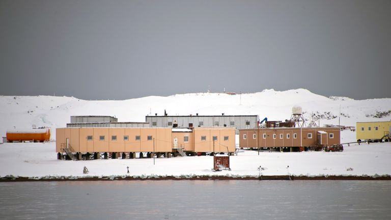 The attack happened at the Russian Bellingshausen Station in Antarctica