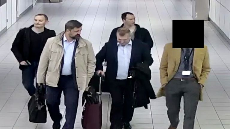The Russian intelligence officers at Schiphol