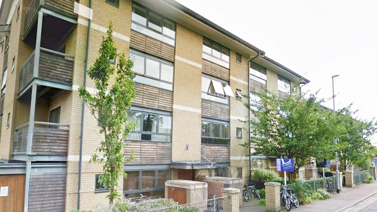 Ms Chalkley was killed outside Ruth Bagnall Court in Cambridge