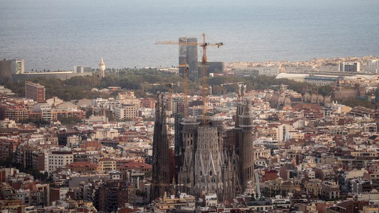 The Sagrada Familia is an iconic building in the city