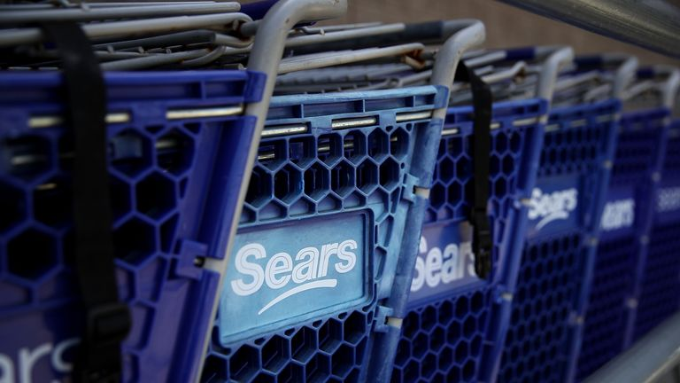 Sears was once among the darlings of US retail