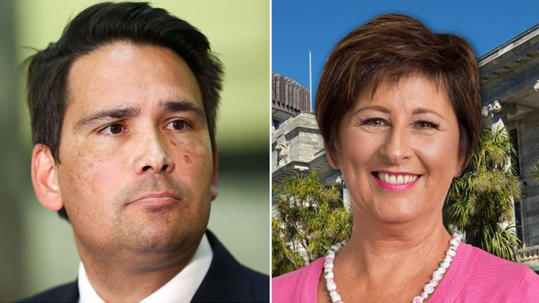 Nationals leader Simon Bridges called MP Maureen Pugh '****ing useless'