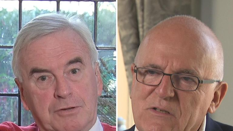 Sir Richard Dearlove has concerns about Jeremy Corbyn's past associations