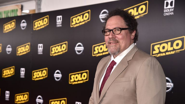 Jon Favreau at the premiere of Solo: A Star Wars Story.. in Hollywood on May 10, 2018