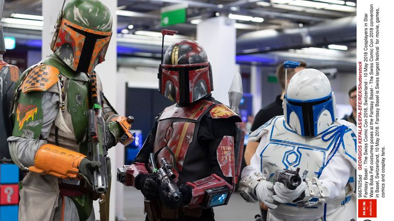The Mandalorian is is set after the fall of the Empire. File pic: GEORGIOS KEFALAS/EPA-EFE/REX/Shutterstock