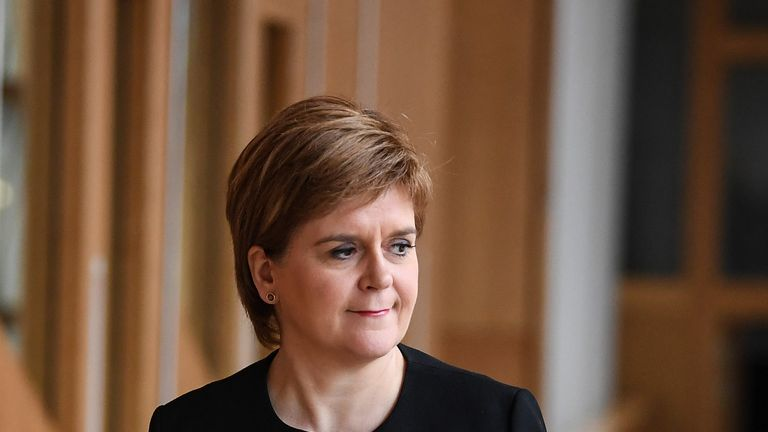 Nicola Sturgeon will tell supporters Scotland deserves better than chaos at Westminster