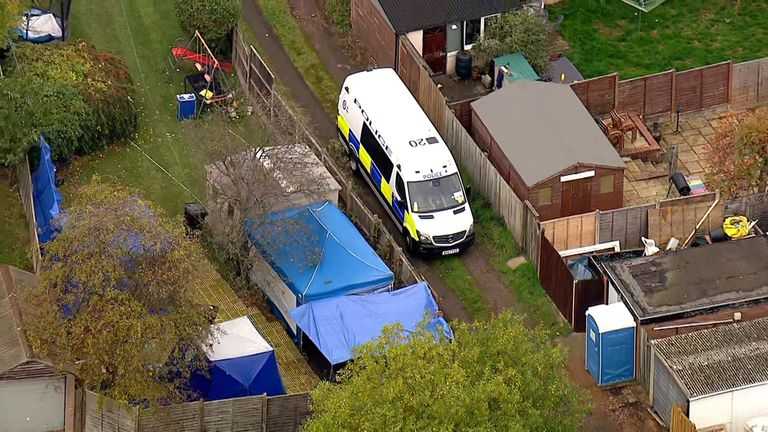 Police search for the remains of disappeared estate agent Suzy Lamplugh