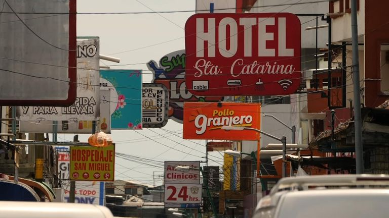 Tapachula, near the border between Mexico and Guatemala