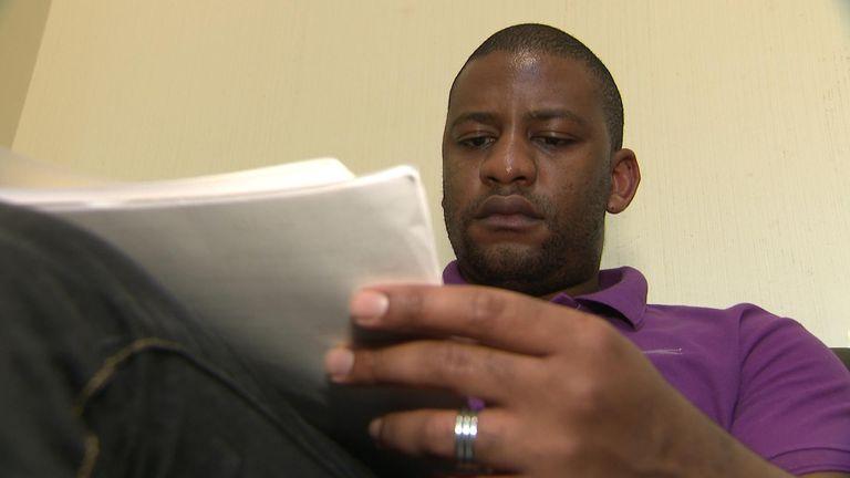Tapiwa Matukutire has a Zimbabwean passport but is in the UK legally
