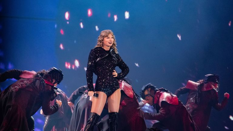 Taylor Swift has previously been reluctant to talk about politics