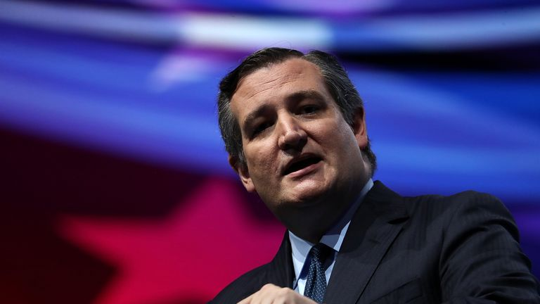Ted Cruz's seat in the US Senate is under threat as he seeks re-election in Texas