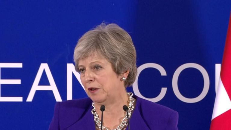 Theresa May says a deal on Brexit can be reached and is talking about taking it to parliament