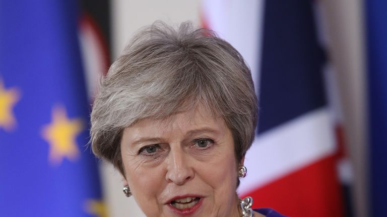 Theresa May is preparing to make a speech to MPs on Brexit progress as she fights for her job