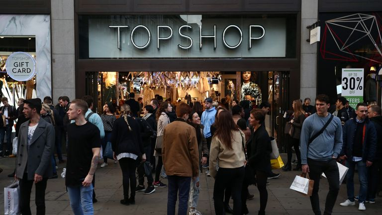 Shoppers are unlikely to boycott Topshop in their droves. File pic