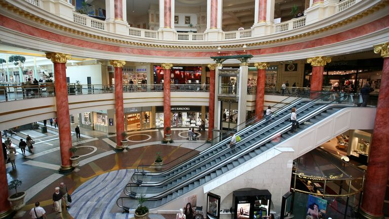 The Trafford Centre has an estimated gross value of £2.2bn