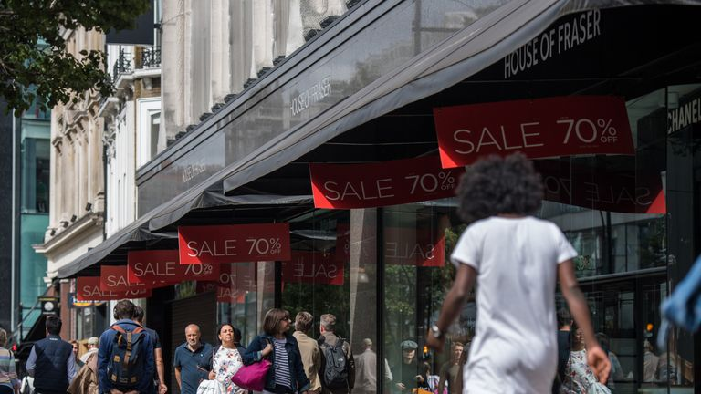 The high street enjoyed a stronger summer after a tough start to the year