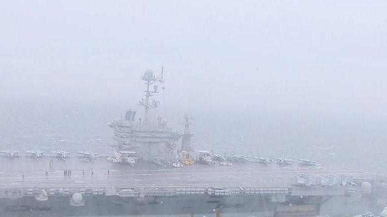 US aircraft carrierUSS Harry S Truman