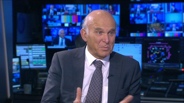 "Liberal Democrat leader Sir Vince Cable says in the case of the billionaire Sir Philip Green it is ""three strikes and your out""."