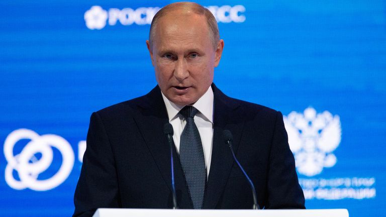 Vladimir Putin has criticised the former spy who was targeted in Salisbury