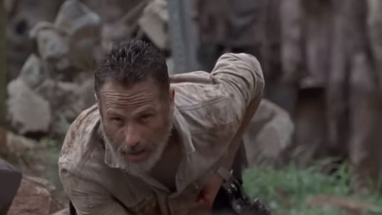It is not known how Rick Grimes will leave the show