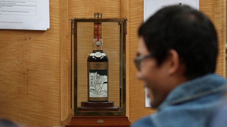 Record-breaking whisky