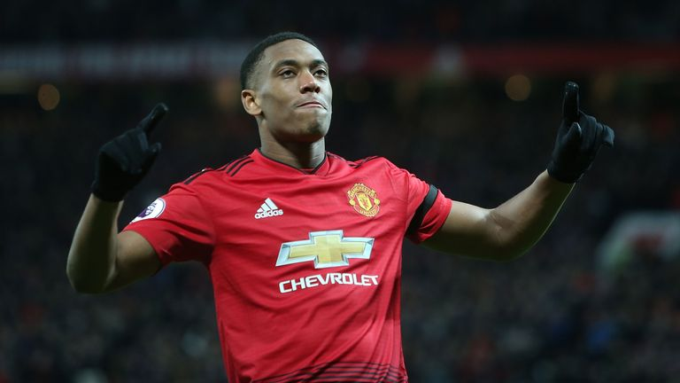 Manchester United's Anthony Martial returns to France squad after eight months