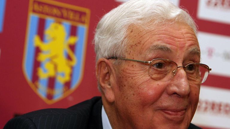 Former Aston Villa owner Sir Doug Ellis dies aged 94