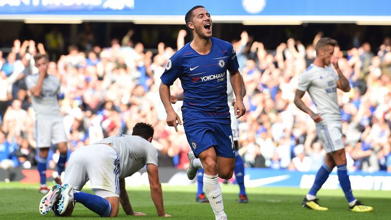 Eden Hazard has become a leader for Maurizio Sarri's Chelsea, says Jamie Redknapp
