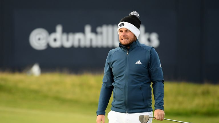 Thomas Bjerregaard wrecks Tyrrell Hatton's hopes of Dunhill Links Championship hat trick