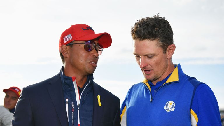 Furyk: Brooks Koepka, Dustin Johnson are 'as close as they've ever been'
