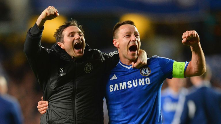 Frank Lampard says John Terry will succeed in management