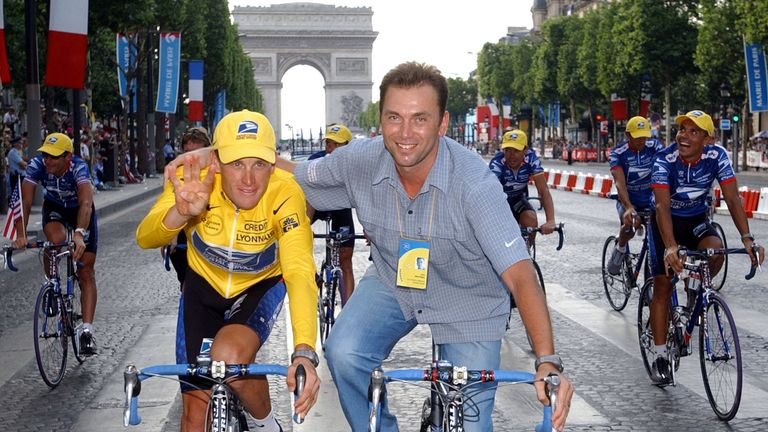 89d91cb54 Lance Armstrong  39 s former US Postal team manager Johan Bruyneel banned  from cycling